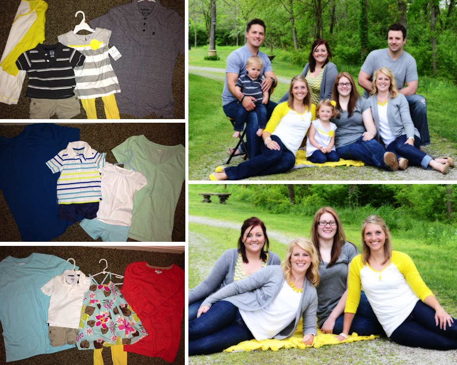 How to pick out clothing for your next family photo