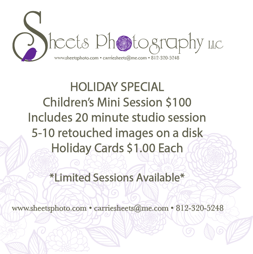 Holiday Portrait Special