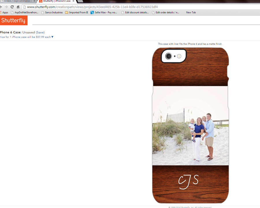 My Favorite Template for the iPhone 6 on Shutterfly