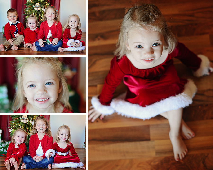 group christmas portraits, children portraits, children pictures, Christmas pictures, Christmas portraits, Columbia City Photographer, Fort Wayne Photographer, Natural light portraits, Christmas tree pictures, grandchildren portraits, Sheets Photography