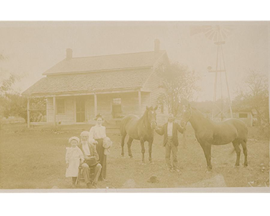 old homestead portrait, photo restoration, historical portrait, Columbia City Photo Restoration,