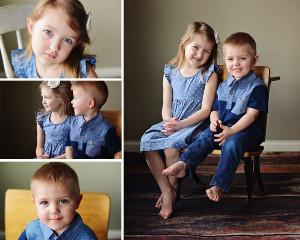 sibling portraits, kid pictures, child portraits, Ft. Wayne Photographer, Columbia City Photographer, natural light children portraits,