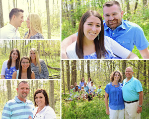 family pictures, outdoor family portraits, Columbia City Photographer, Fort Wayne Photographer, extended family pictures,