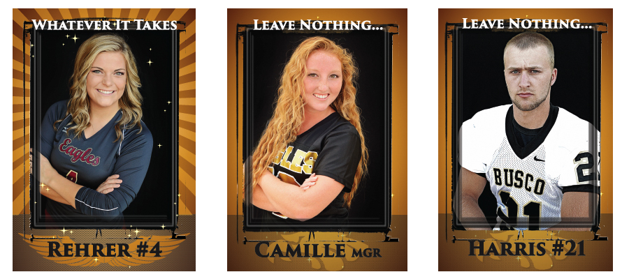 senior pictures, senior banners, Senior athletic banners, outdoor banners, Columbia City Photographer