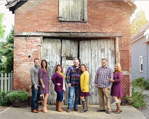 Columbia City Photographer, Fort Wayne Photographer, outdoor family pictures, natural light family portraits, Couples pictures, Portraits with old door,