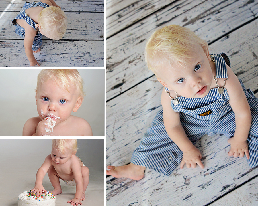 1 year picture, cake smash, little boy pictures, Columbia City Photographer, Fort Wayne Photographer,