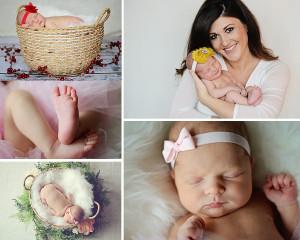 newborn with mom, newborn girl, newborn pictures, newborn portraits, Columbia City newborn photographer, Fort Wayne newborn photographer,