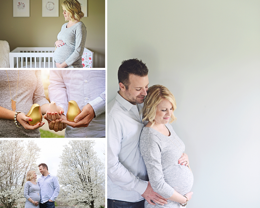 Maternity pictures, maternity portraits in nursery, outdoor maternity session, natural light maternity pictures