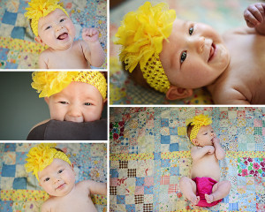 baby girl pictures, colorful baby girl portraits, 3 month old baby pictures, baby girl portraits