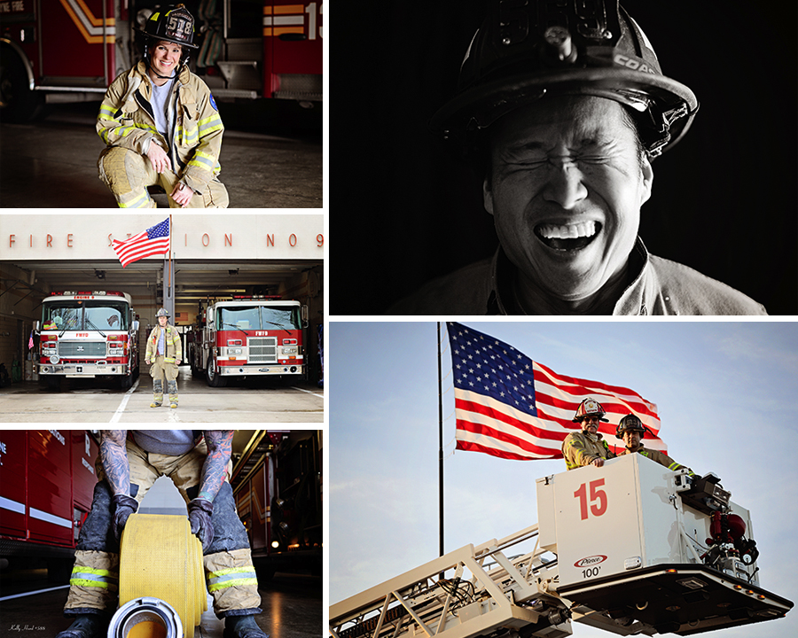 FWFD, Ft Wayne Photographer, Firefighter Calendar