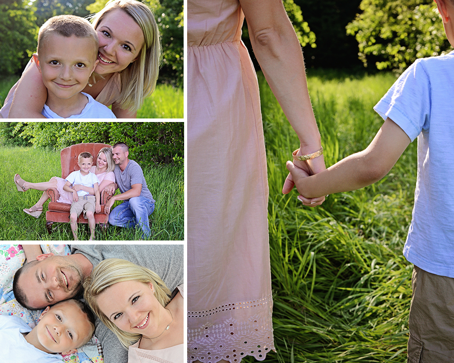 Outdoor family pictures, Mother and son pictures,