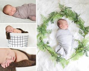 Newborn portraits, newborn boy portraits, neutral newborn pictures, Columbia City Newborn Photographer