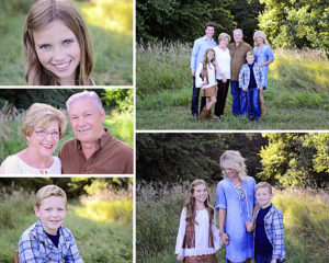 outdoor family pictures, Columbia City Photographer
