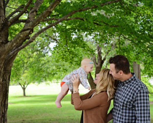 Family portrait, 3 month old portraits, Columbia City Photographer