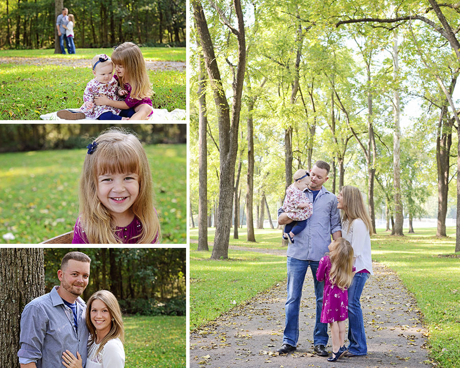 outdoor family portraits, fall family portraits