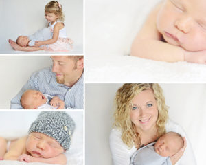 newborn boy portraits, Columbia City Newborn Portraits