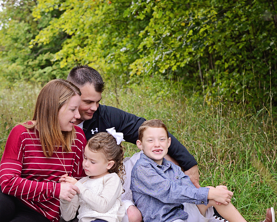 Candid family portraits, Columbia City Photographer,