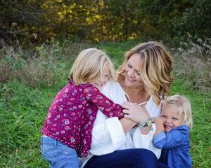 Columbia City Photographer, outdoor family portraits