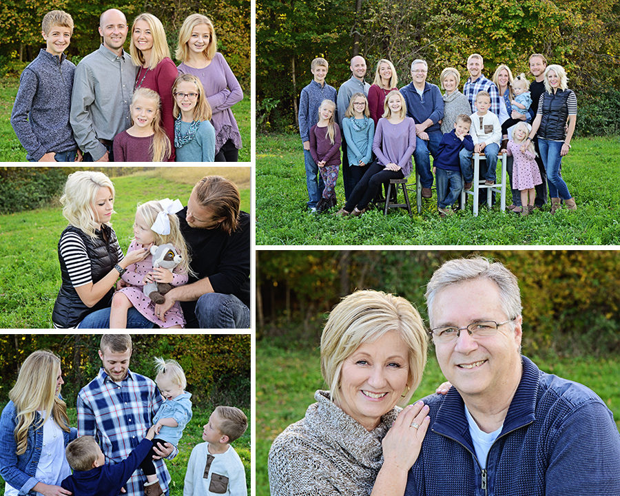 family portraits, fall family portraits