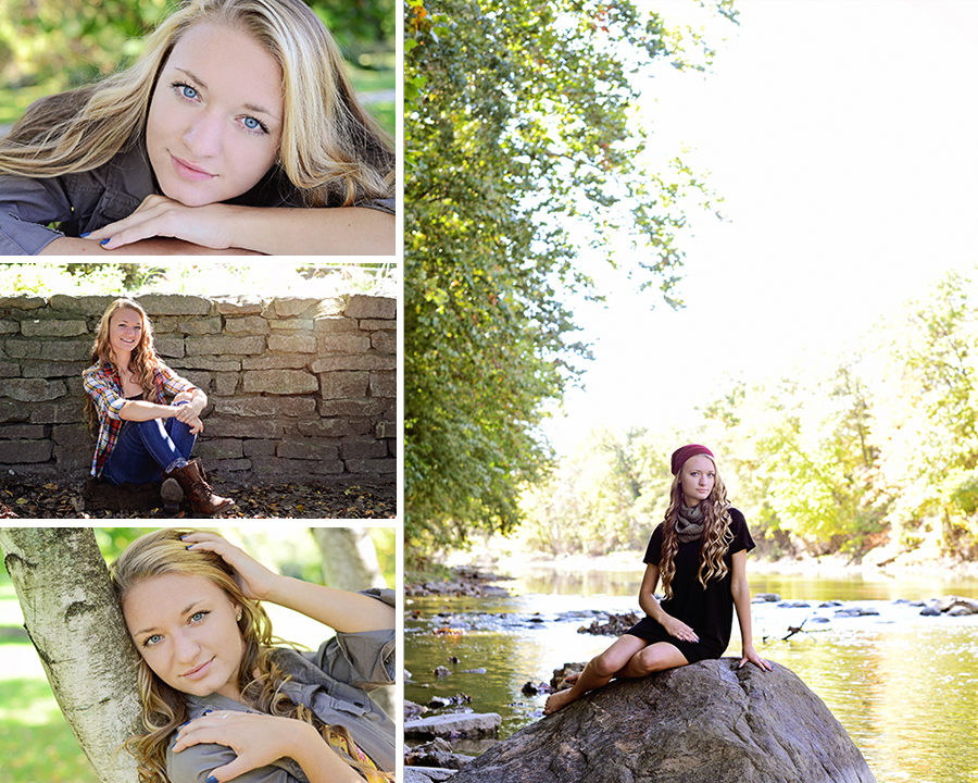 Senior Girl Portraits, Columbia City Photographer