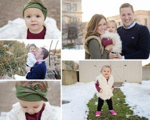 Columbia City Family Photographer, 1 year portraits, Family Portraits