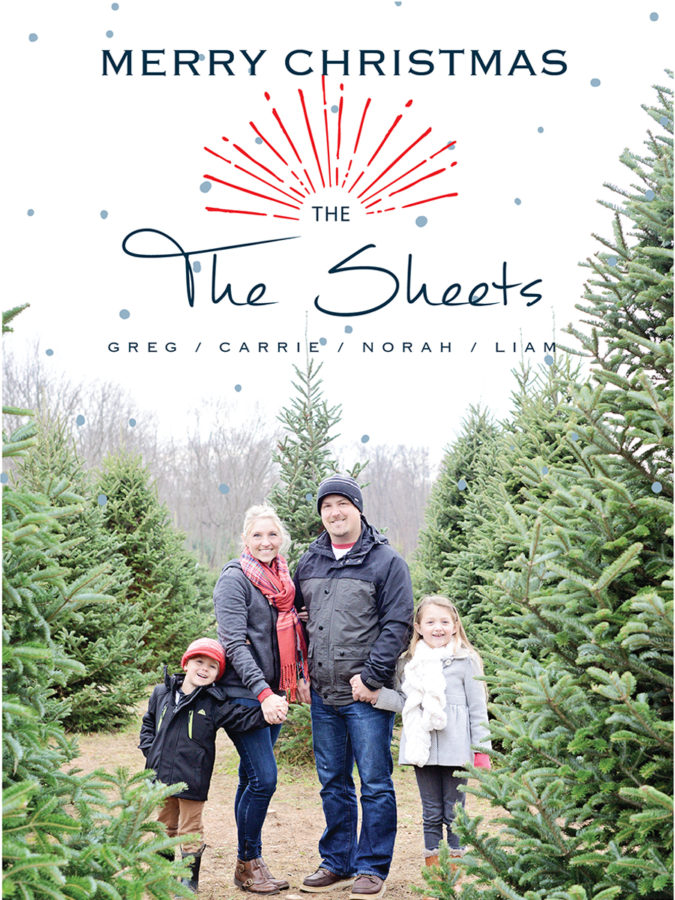 Winter Family pictures, Christmas Card portraits