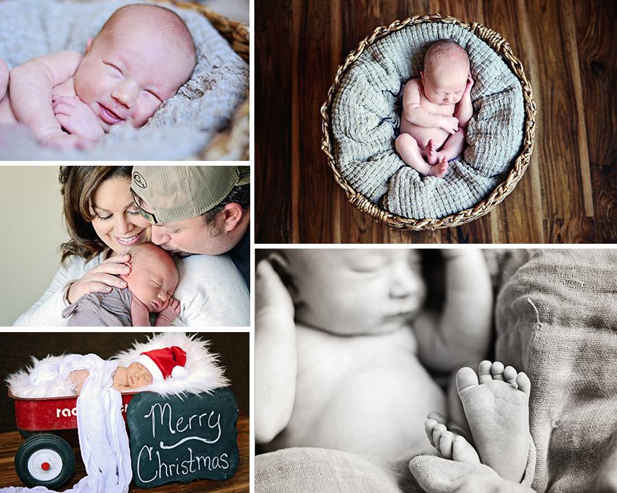 Newborn portraits, newborn boy, Columbia City Newborn Photographer