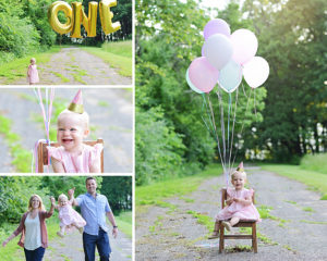 Columbia City Photographer, 1 Year Old Portraits, 1 Year Old Girl