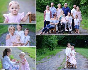 Columbia City Family Photographer, Large Family Portraits