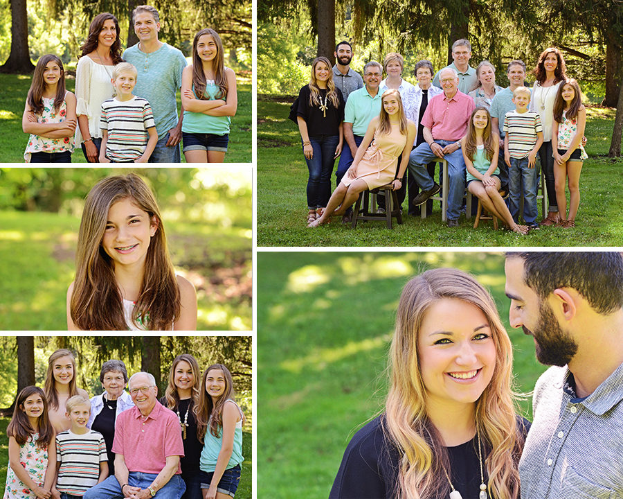 Columbia City Photographer, family portraits