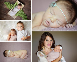 Columbia City Newborn photography, newborn girl portraits