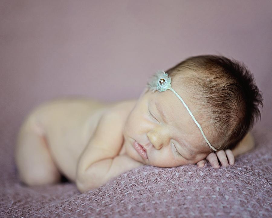 newborn girl, newborn photography, Columbia City Newborn photographer