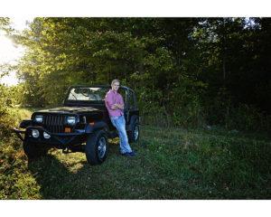 Senior guy portraits, senior with car, Columbia City Senior Photographer