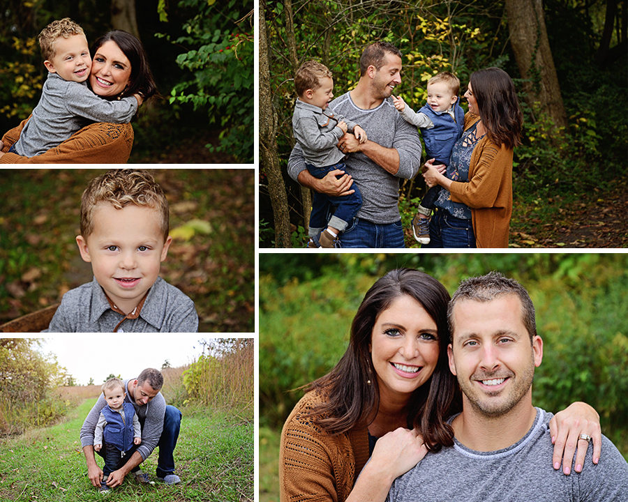 Fall Family Portraits, fall portraits, Columbia City Photographer