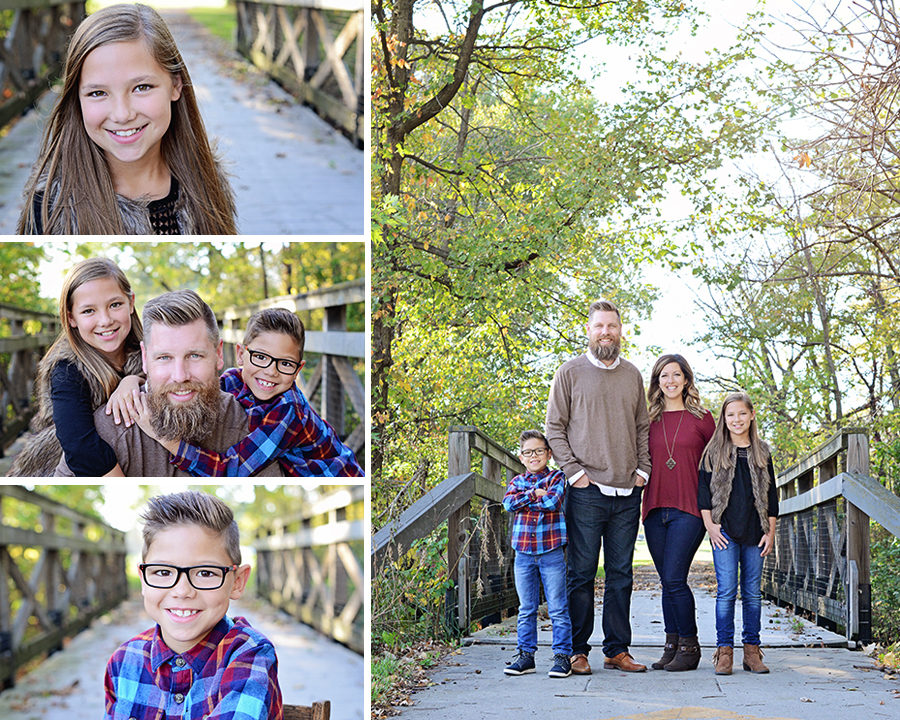 Columbia City Family Photographer, fall family pictures