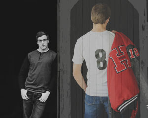 Senior sports Portraits, senior guy, senior pictures with letter jacket