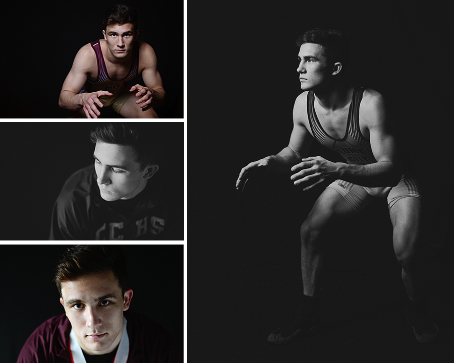 senior wrestling portraits, senior pictures, Columbia City Photographer