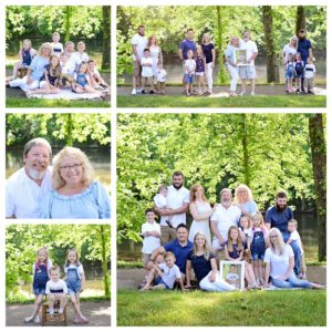 Large family portraits, Columbia City Photographer