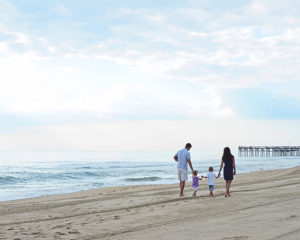 Columbia City Photographer, beach family portraits