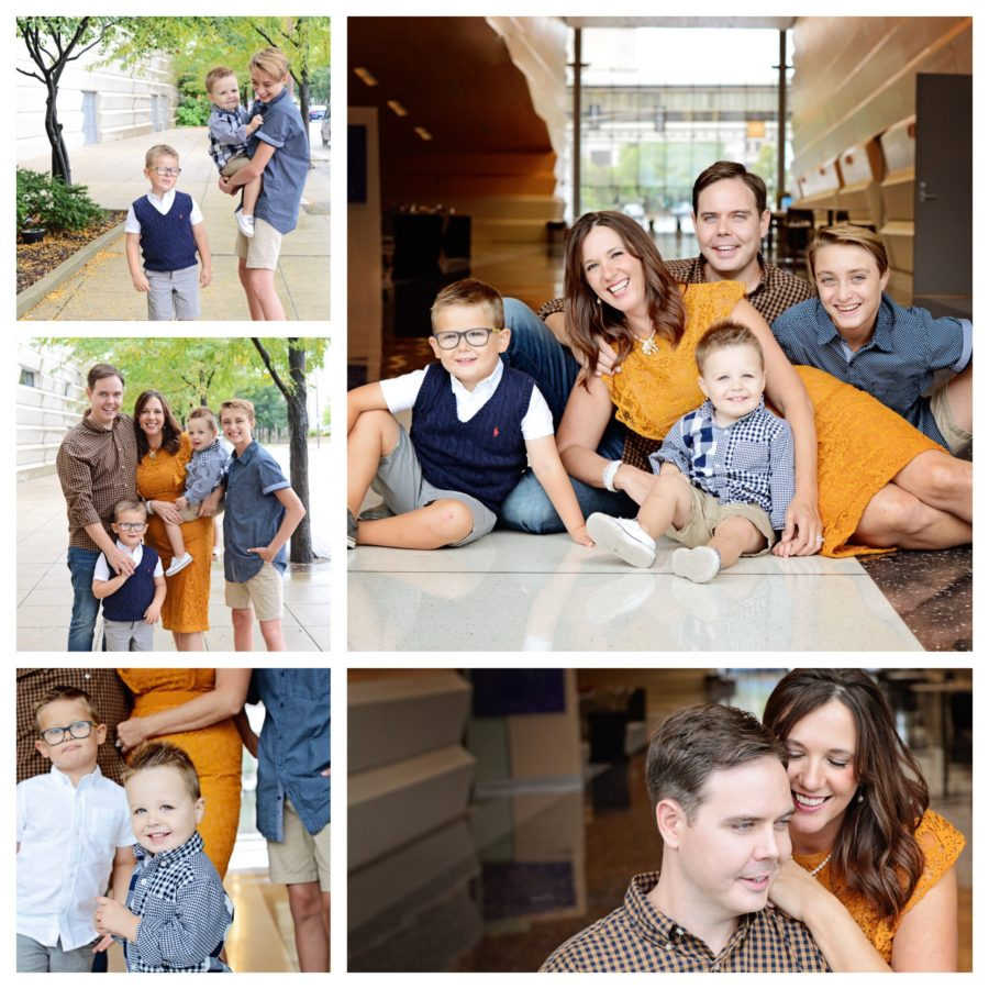 Family of 5 portraits, Columbia City Photographer
