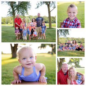 family portraits, Columbia City photographer, extended family portraits