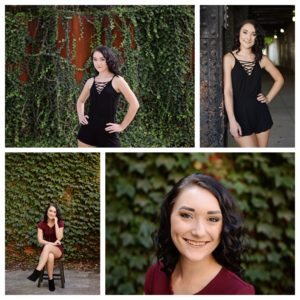 senior portraits, senior girl portraits, senior portraits in city, Fort Wayne Senior Photography