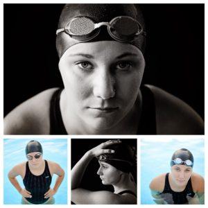Senior swim pictures