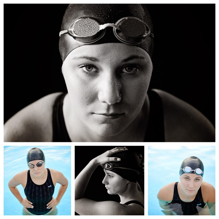 Senior swim pictures
