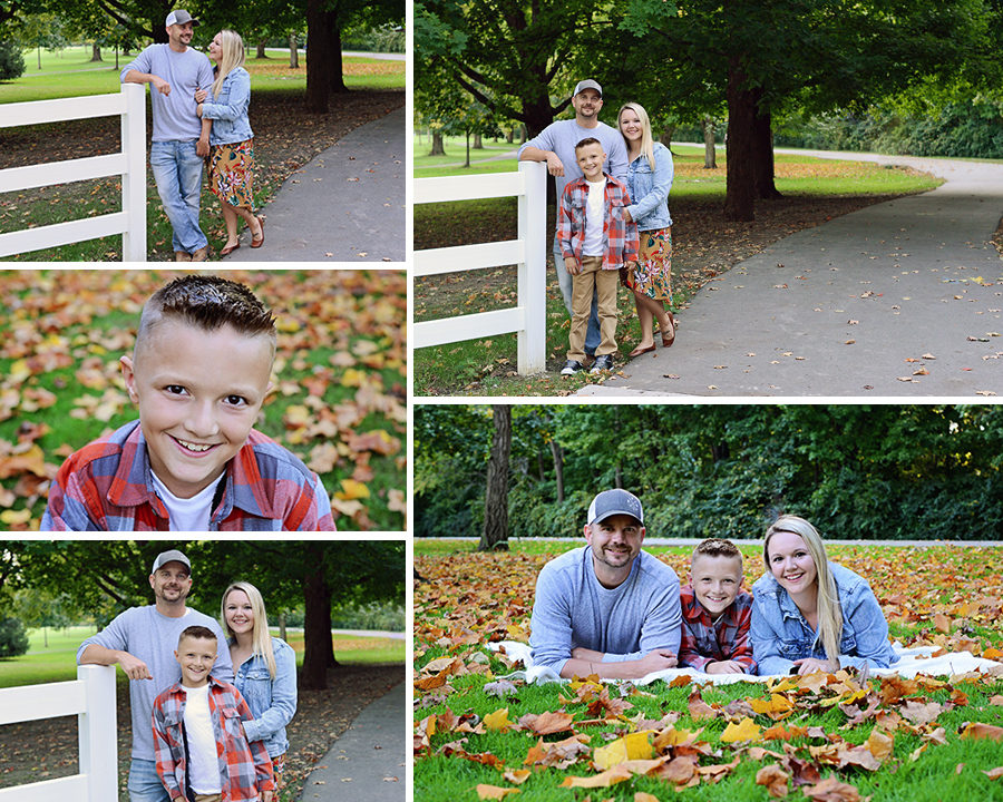 Sheets Photography, fall family portraits