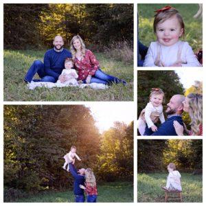 fall family portraits, Columbia City Photographer
