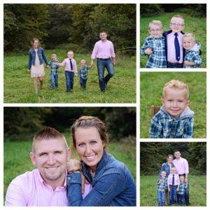 Sheets Photography, Columbia City family photographer, family portraits, family of 5 portraits