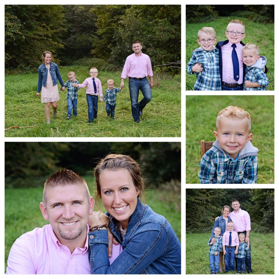 Sheets Photography, Columbia City family photographer, family portraits, family of 5 portraits