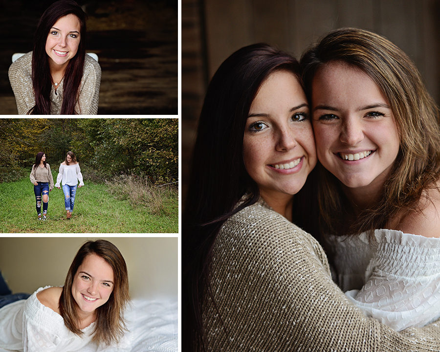 senior portraits twins, Columbia City Senior photographer, senior portraits