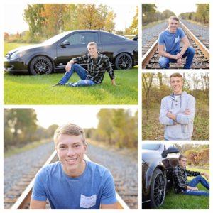 Senior Portraits, Senior portraits with car